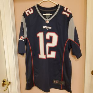 Tom Brady Nike NFL On field Jersey New England Patriots #12. for Sale in Campbell, CA