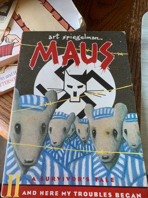 "Art Spiegelman ""Maus"" II A survivor's tale for Sale in Natalia, TX"