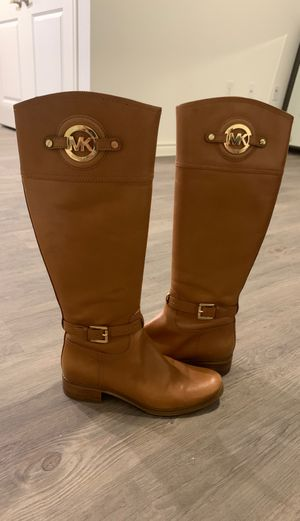 Michael Kors Leather Boots for Sale in Austin, TX