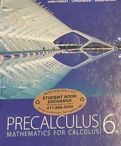 Precalculus James Stewart 6th Edition for Sale in Farmington,  UT