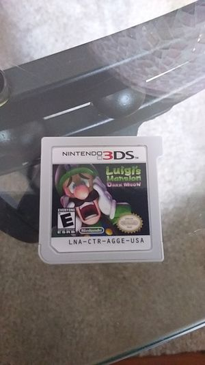 Luigi mansion dark moon for Sale in New Britain, CT