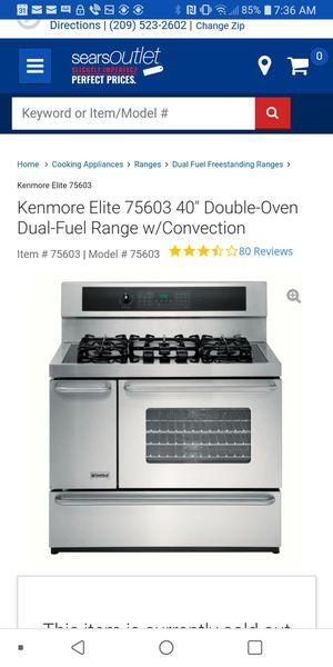 Kenmore Elite Professional Range for Sale in Stockton, CA