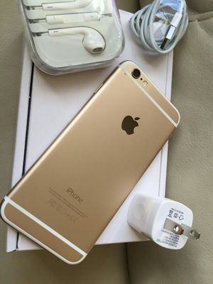 Iphone 6, 64GB - excellent condition, factory unlocked, includes new box & accessories for Sale in Springfield, VA