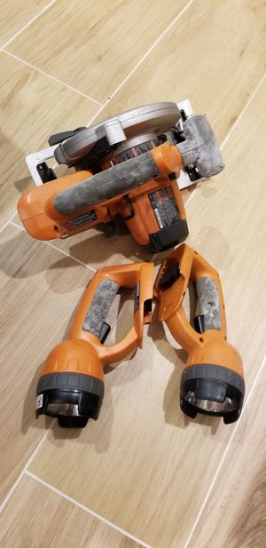 Ridgid Hand Tools, Circular Saw, 2 Light for Sale in Miami, FL