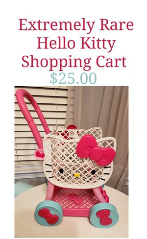 Vary Rare Hello Kitty Shopping Cart for Sale in Buford, GA