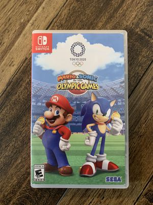 Mario & Sonic at the Olympic Games: Tokyo 2020, Sega, Nintendo Switch for Sale in Los Angeles, CA