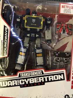 Transformers Netflix Soundwave for Sale in Chicago,  IL