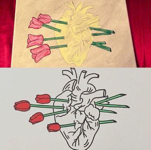 Heart painting for Sale in Houston, TX