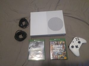 Xbox one s and GTA and call of duty for Sale in Hyattsville, MD