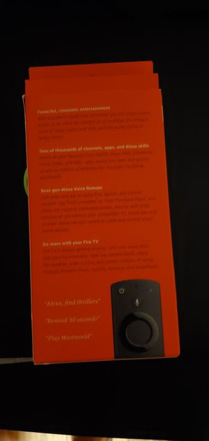 Fire TV Stick 4K for Sale in Montclair, CA