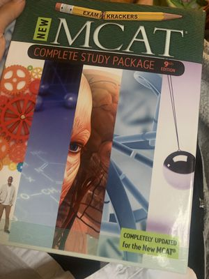 MCAT Study Package Books for Sale in Brentwood, MO