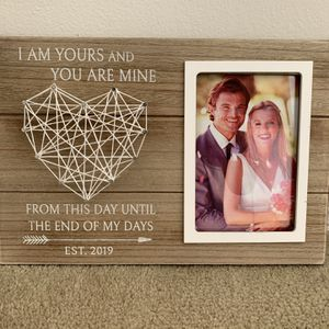 Wedding Frame Est 2019 for Sale in Long Beach, CA