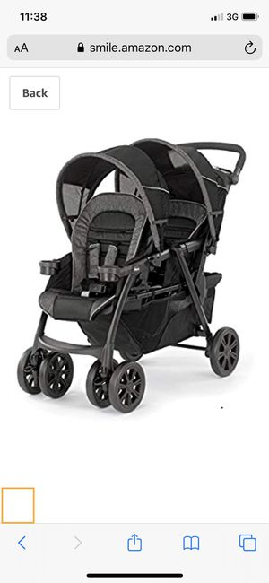 Chicco double stroller for Sale in San Diego, CA
