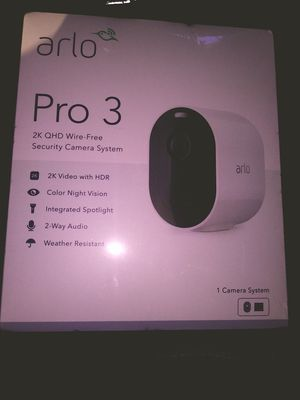 Arlo Pro 3 Security Camera system for Sale in Phoenix, AZ