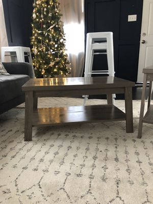Matching coffee and side tables for Sale in Tampa, FL