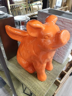 orange piggy with wings for Sale in Los Angeles, CA