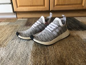 Adidas NMD r1 White Camo 9.8/10 size 9.5 for Sale in Arvada, CO