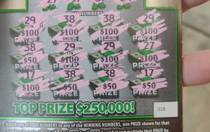 $1000 lottery scratch off ticket for Sale in Raleigh, NC