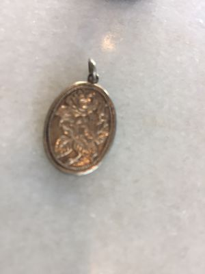 """Awesome Pendant """"Rose"""", Sterling Silver Gold flashed. SAlE $25 for Sale in Los Angeles, CA"""