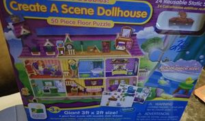 Create a scene doll house puzzle for Sale in Galloway, OH