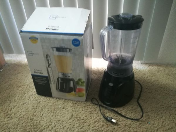 Mainstays 6 speed Blender -$9