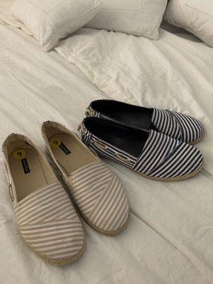 Two pairs of women shoes size 9 for Sale in Miami, FL