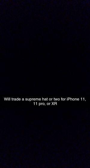 iPhone, Supreme hat trade for Sale in Kalamazoo, MI