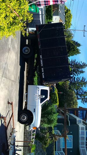 1990 ford f450 dump truck 3500 miles on rebuilt 460 with trans warranty call206 954 0433 for det for Sale in Seattle, WA