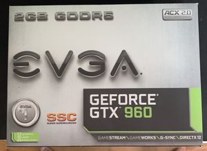 EVGA GTX 960 SSC 2GB for Sale in Los Angeles, CA