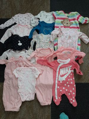 Baby girl clothes from Newborn to 0-3 months for Sale in Tomahawk, WI