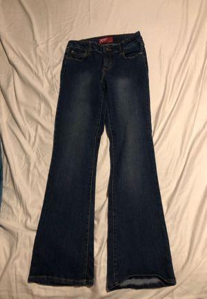 Gently used girls Arizona jeans, dark blue size 14 regular for Sale in Apopka, FL