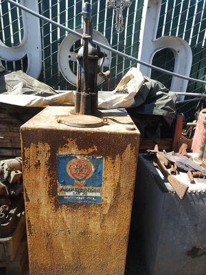 Shields and Harper pump #9892 and 30ga oil tank w/ dipstick for Sale in Santa Maria, CA
