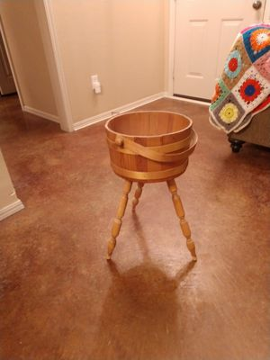 Antique wood stand for Sale in Moore, OK