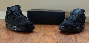 "Jordan Retro 4's ""Black Cat"" size 12 for Sale in Suwanee, GA"