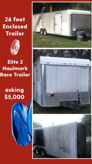 26 Foot Enclosed Toy Hauler Trailer Sale for Sale in West Palm Beach, FL