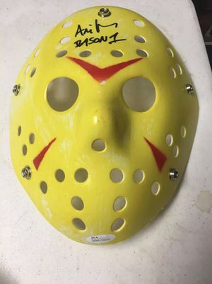 Ari Lehman Signed Jason Mask w/COA for Sale in Freeland, PA