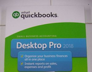 QuickBooks Intuit Desktop Pro 2018 For Laptop & Desktop for Sale in Aventura, FL