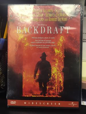Back draft dvd. Brand new for Sale in Exeter, RI