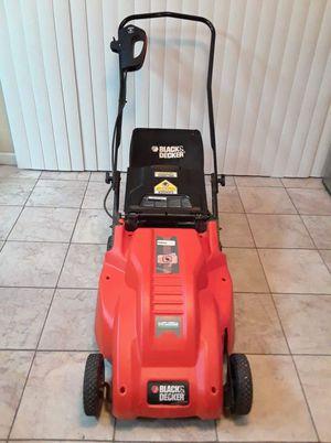 Black and decker electric lawnmower for Sale in Phoenix, AZ