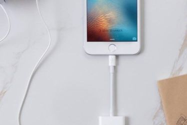 Apple Certified iPhone Headphones Adapter & Splitter Dual Lightning Charger Cable Aux Audio Adapter Compatible with iPhone 12/11/XS/XR/X/8/7 iPad Conv for Sale in Los Angeles,  CA