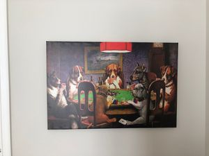 Dog Poker Canvas for Sale in Scottsdale, AZ