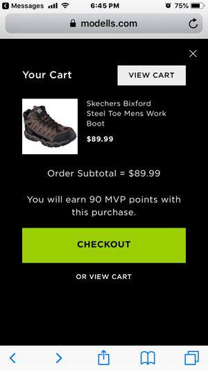 SKETCHERS Steel Toe Hikers Work Boots. for Sale in Philadelphia, PA