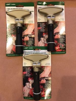 """Orbit Aluminum Swivel Fan Hose Spray Nozzle model# 56119. """" ALL 3 FOR $25 FIRM for Sale in Queens, NY"""