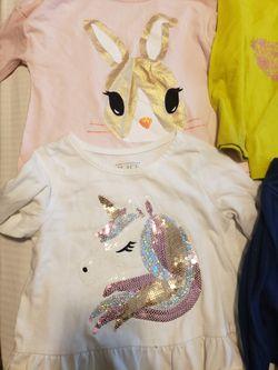 Girls 2t lot (asst brands) shirts, dresses (4) , pants for Sale in Hampton,  VA