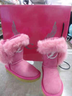 Pink girls Tampa Bay lightning boots size for Sale in Tampa, FL