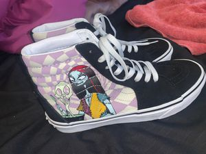 night mare before Christmas vans hightops for Sale in Houston, TX