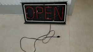 Neon open sign for Sale in Bonney Lake, WA