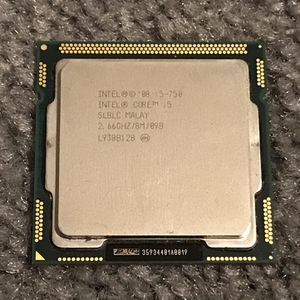 Intel Core i5-750 CPU 2.66GHz + Misc Hardware for Sale in Imperial Beach, CA