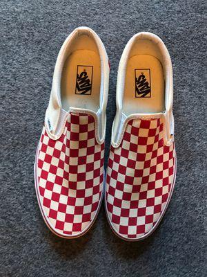 Vans Slip On Red Checkerboard Size 11 for Sale in Santa Ana, CA