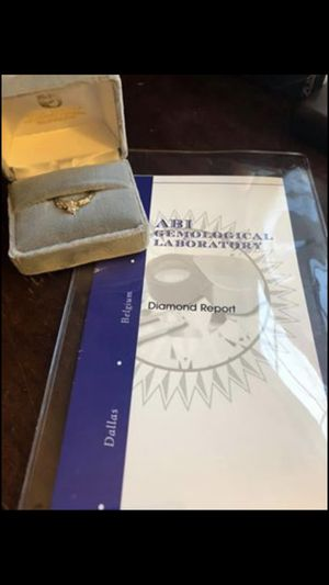 Brand new engagement ring for Sale in UPPER ARLNGTN, OH
